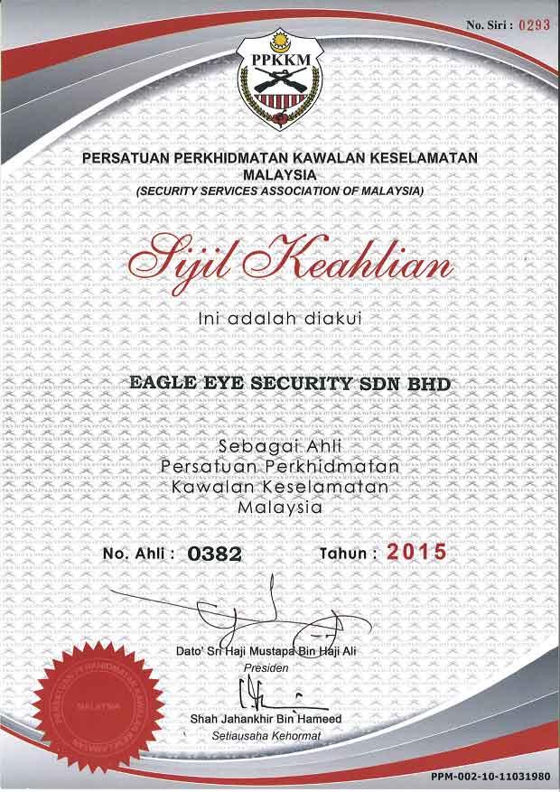 PPKKM 2015 Eagle Eye Security Services in KL